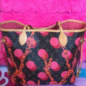 Louis Vuitton Ramages Neverfull Limited Edition mm